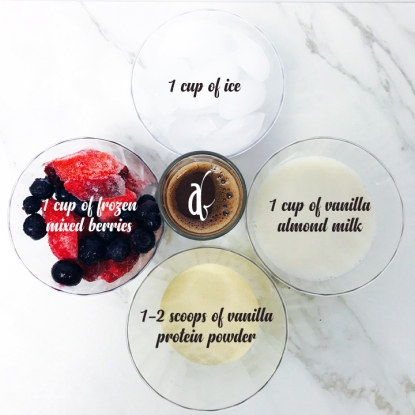 Lifeoxylin Smoothie Ingredients